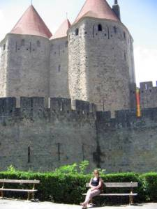 Carcassonne view